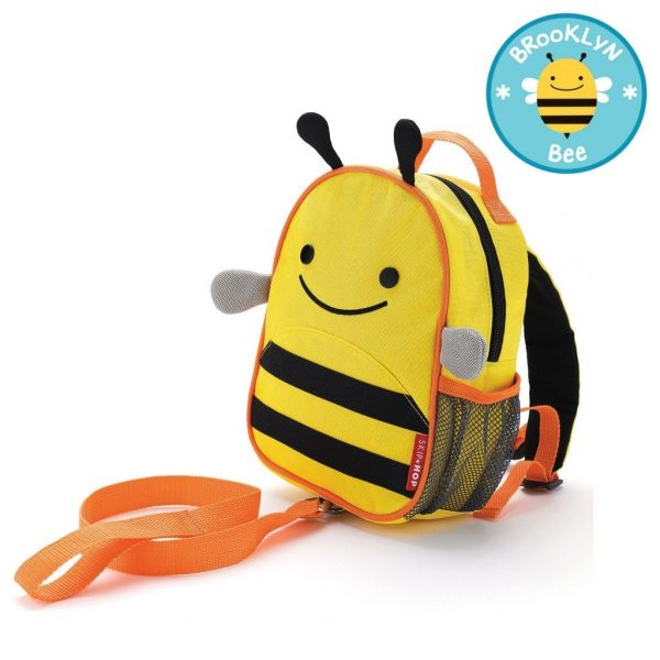 Skip Hop safety Harness Backpack Bee