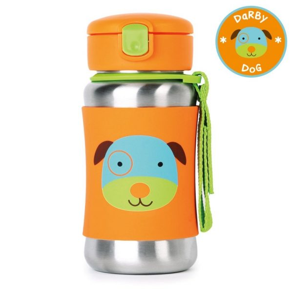 Skip Hop Zoo Straw Bottles Dog