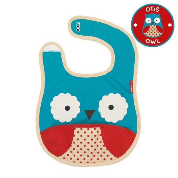 Skip Hop Zoo Bib Owl